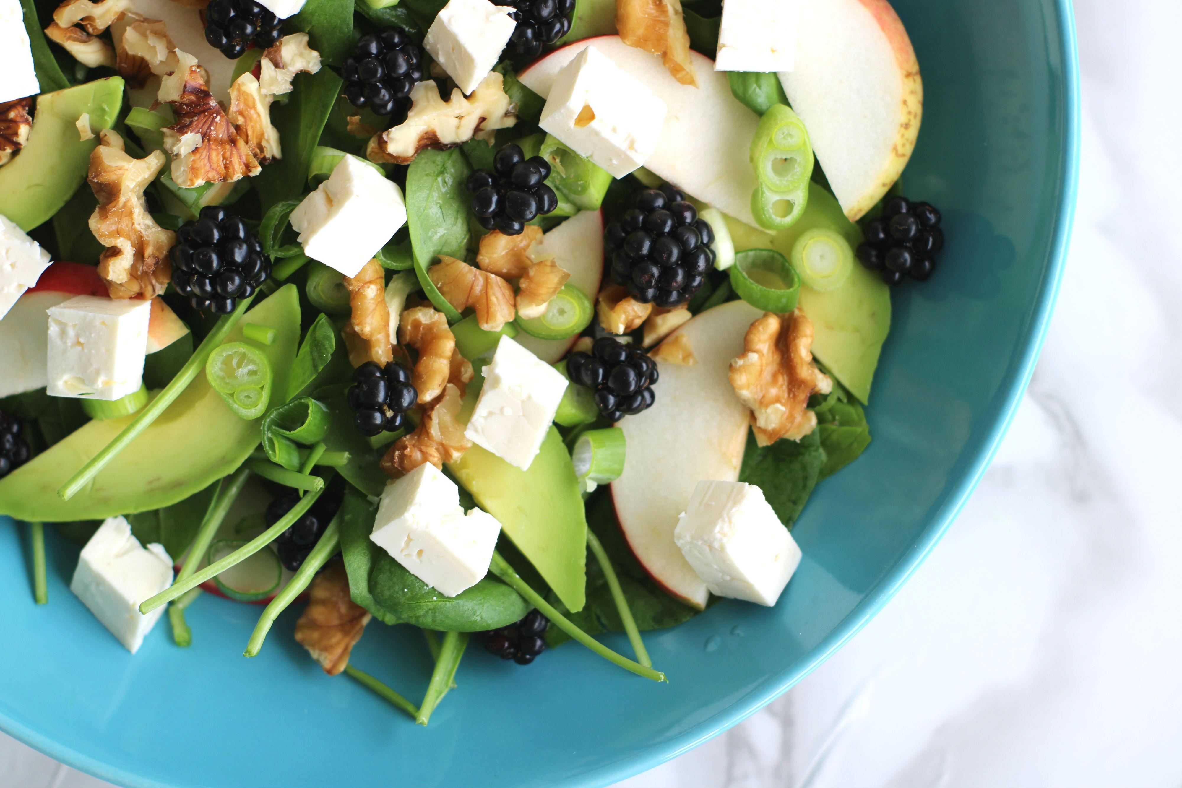 Brombær salat 1